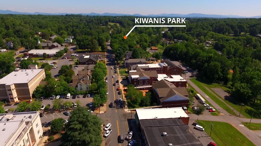 Kiwanis Park- Downtown Rutherfordton
